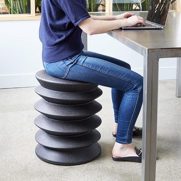 Эргономичный стул-гармошка