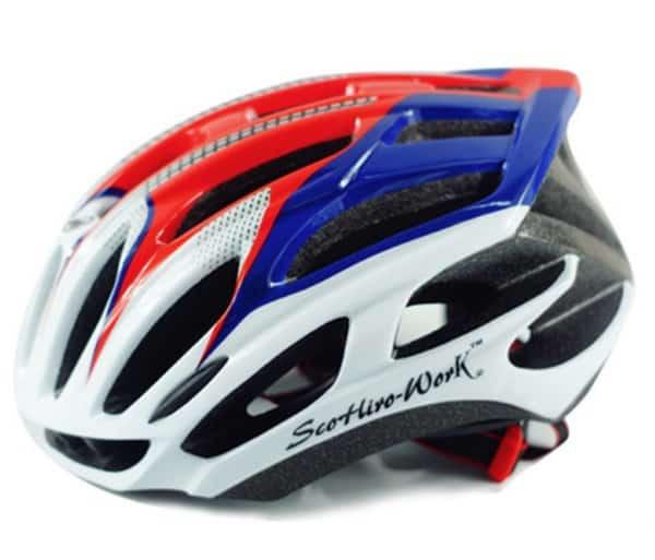 Очень лёгкий велосипедный шлем