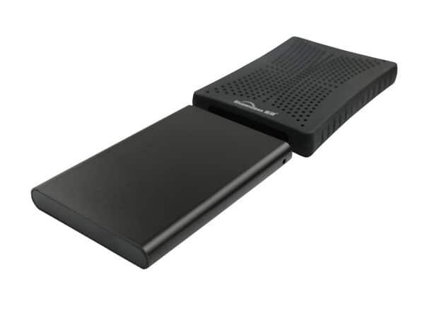 Внешний ударопрочный HDD в резиновом чехле