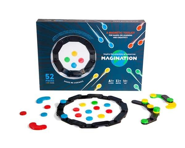 Набор магнитных фишек для игр и развития