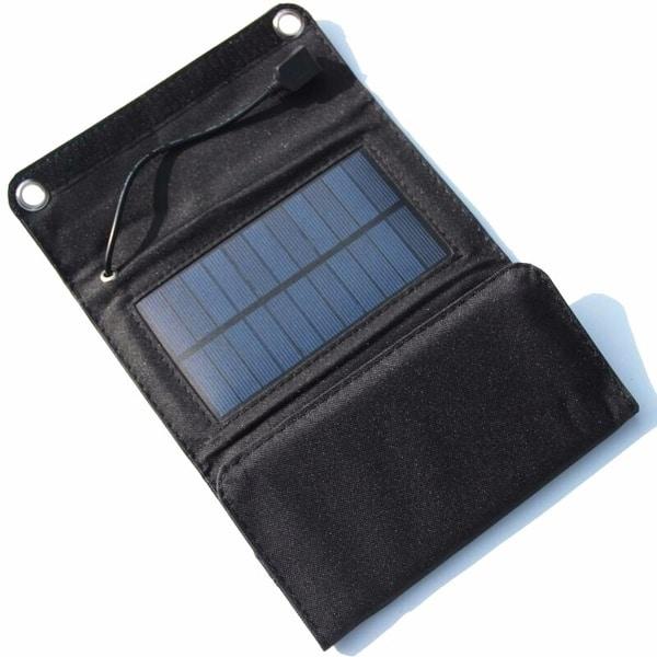 Зарядник на солнечных панелях Buheshui