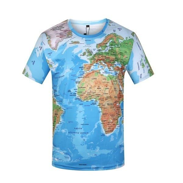 Картографическая футболка
