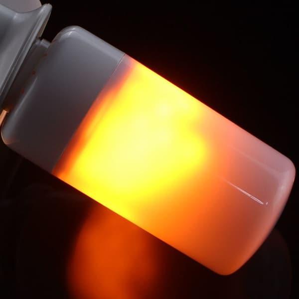 Лампа с эффектом пламени