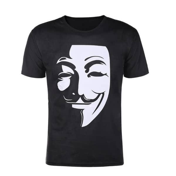 Футболка анонимуса
