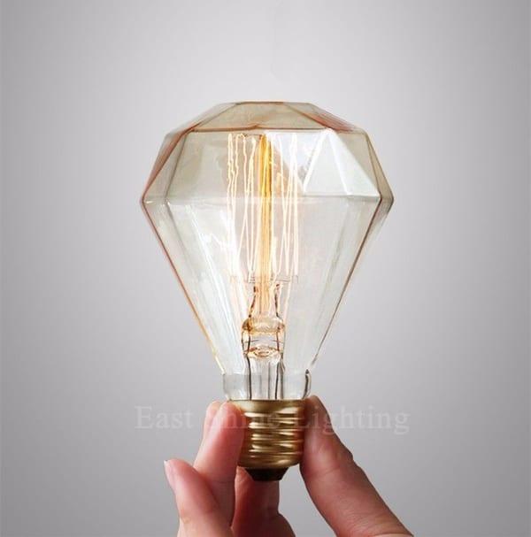 "Лампа накаливания ""Алмаз"""