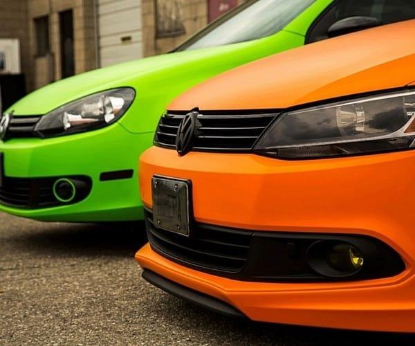 Снимаемая краска для быстрой смены цвета автомобиля