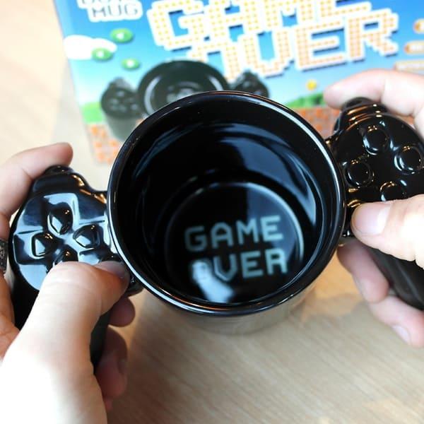 Кружка с двойными ручками в виде геймпада