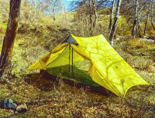 Сверхлёгкая 3-сезонная палатка