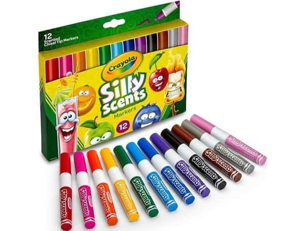 Ароматические маркеры Crayola Silly