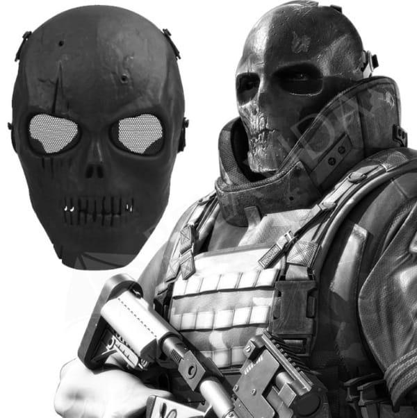 """Устрашающая маска """"Череп"""""""