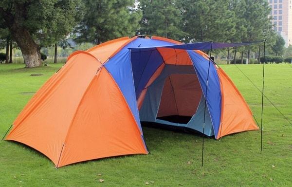 Палатка с раздельными спальными местами