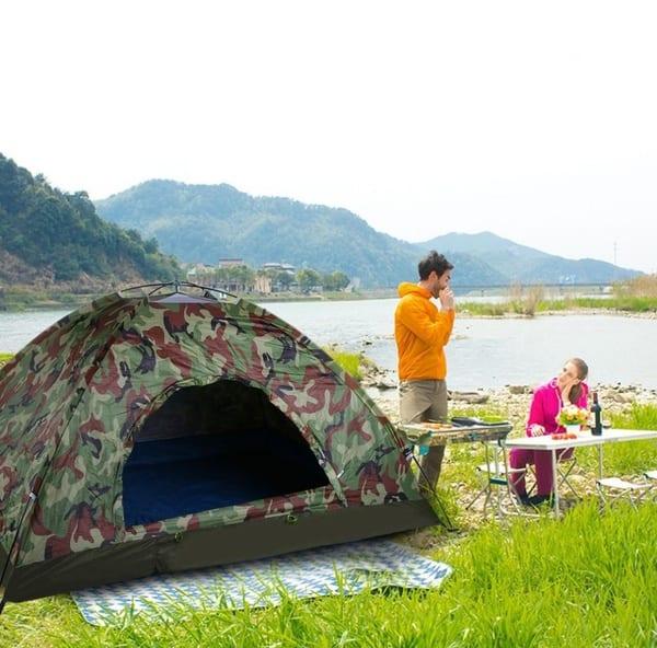 Палатка в камуфляжной окраске