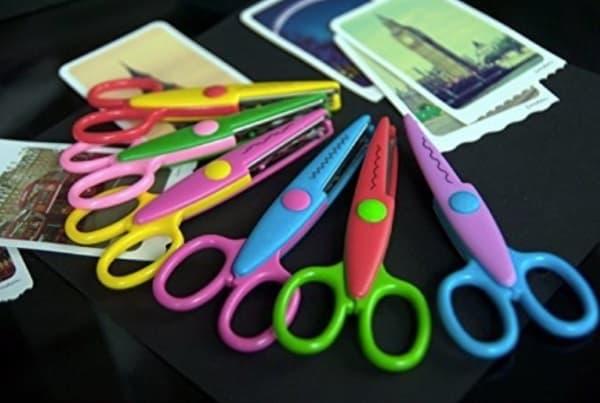 Волнообразные ножницы для творчества