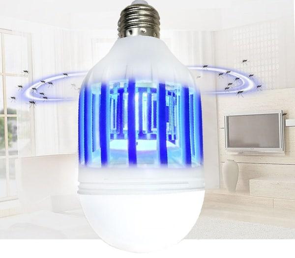 LED-лампочка со встроенной защитой от комаров