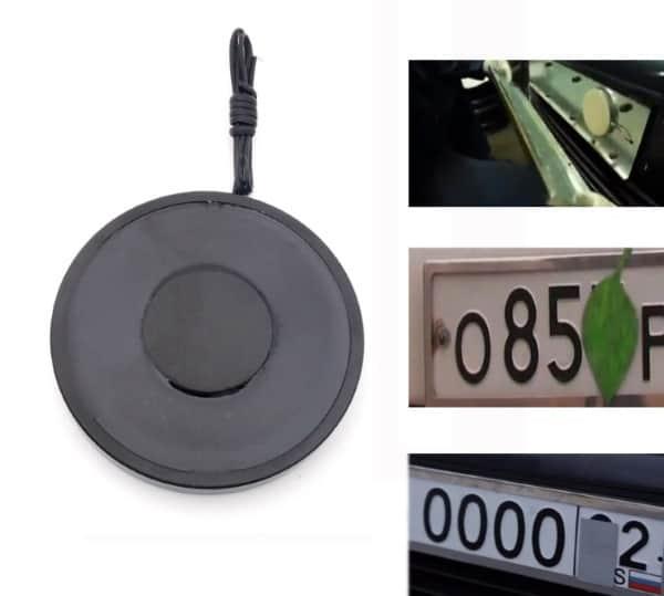 Магнитный листик для маскировки автомобильного номера