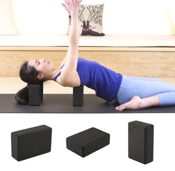Упругие блоки для занятий йогой и фитнесом