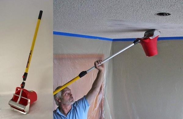 Приспособление для зачистки потолка Texture Terminator
