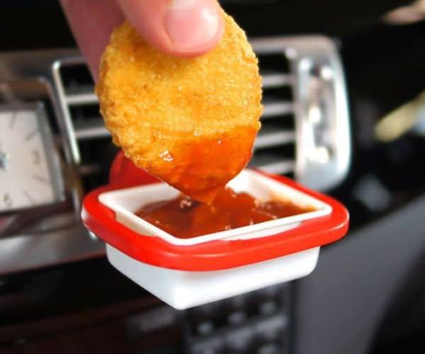 Миниатюрный держатель для соуса в машину