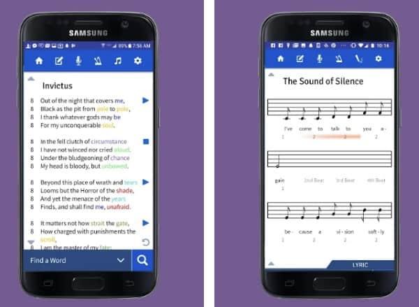Lyric Notepad - текстовый редактор для поэтов и рэперов