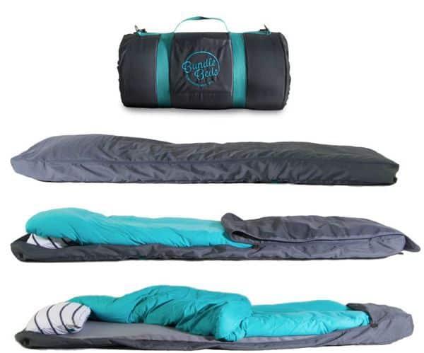 Портативная кровать-рулон Bundle Bed