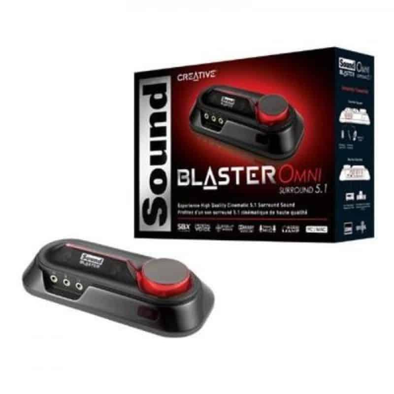 Creative Sound Blaster Omni - лучшая карта в категории до $100