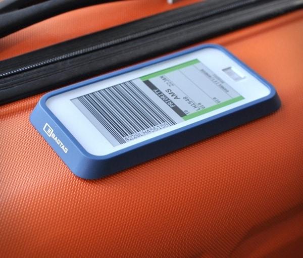 Цифровая багажная бирка Bagtag
