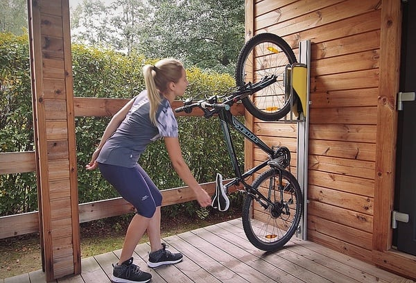 Вертикальная стойка для хранения велосипеда Parkis