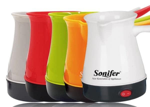 Электрический кофейник с длинной ручкой Sonifer