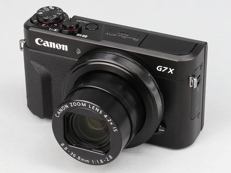 Компактный фотоаппарат с тачскрином Canon PowerShot G7 X Mark II