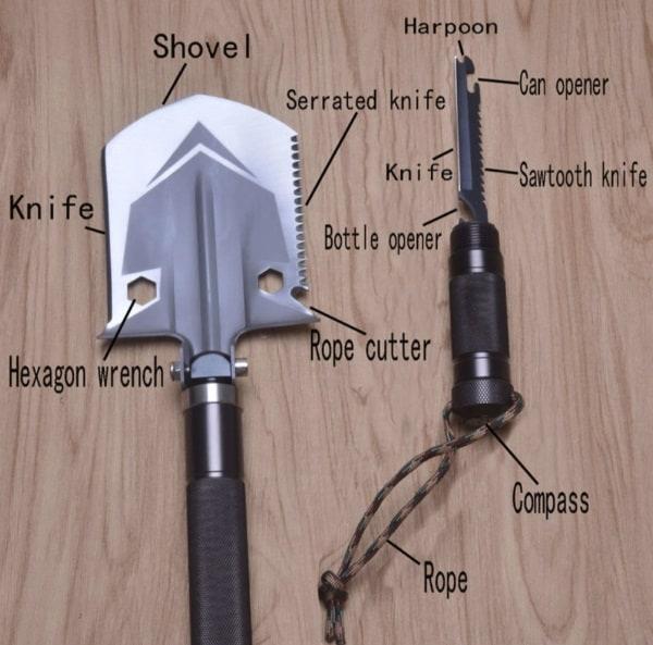 Мультифункциональная лопата