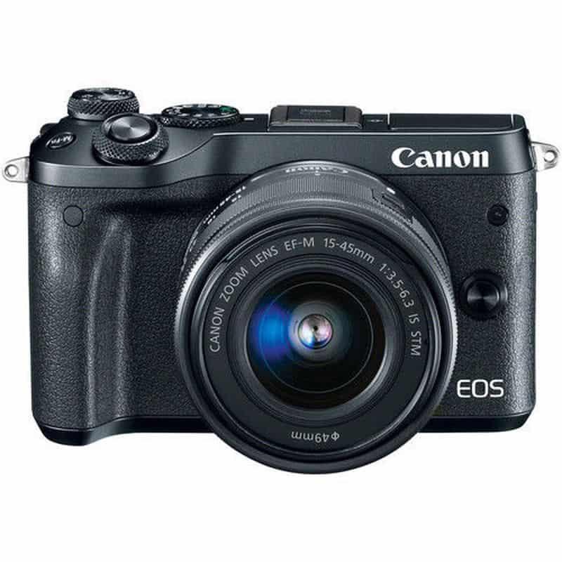 Беззеркалка Canon EOS M6