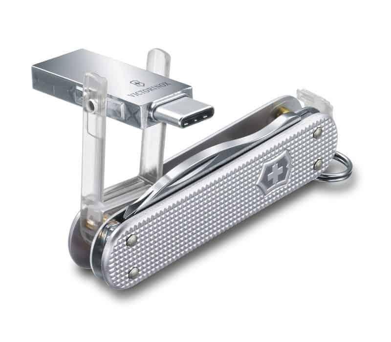 Швейцарский нож Victorinox с флешкой