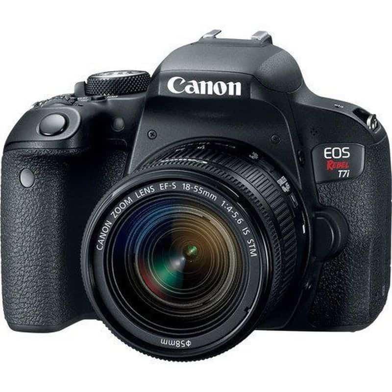 Зеркалка начального уровня Canon EOS Rebel T7i (800D)