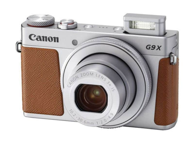 Цифромыльница в винтажном стиле Canon PowerShot G9 X Mark II