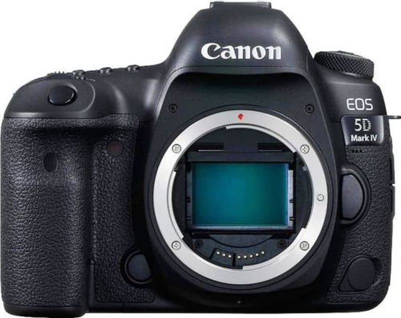 Зеркалка профессионального уровня Canon EOS 5D Mark IV