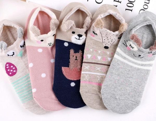 Женские носочки с ушками