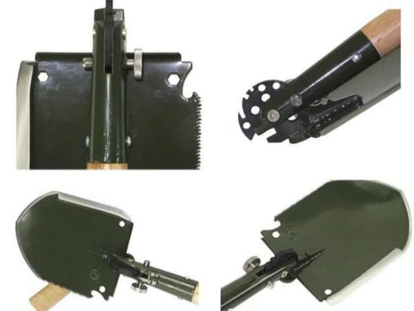 Китайская армейская лопатка WJQ-308