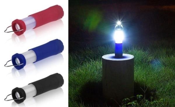 Компактный фонарик для палатки