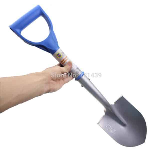 Садовая лопатка с удобной ручкой