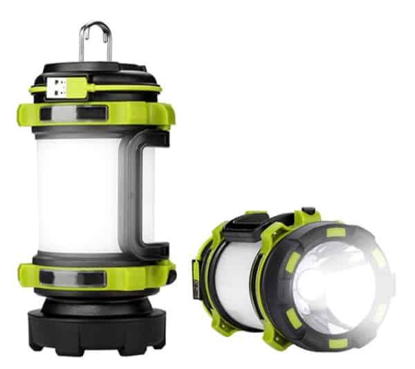 Многофункциональный фонарь для загородного отдыха