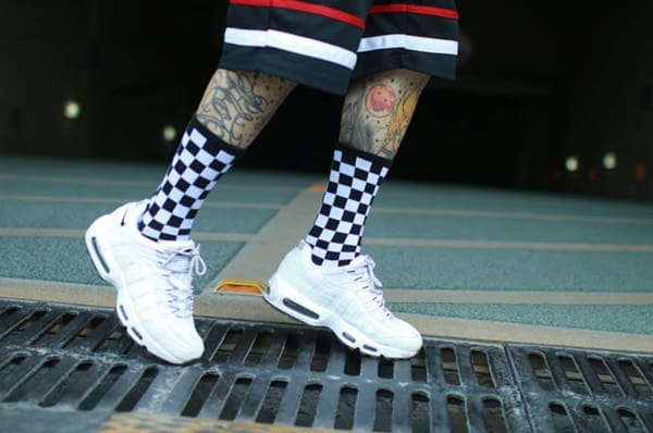 Клетчатые носки
