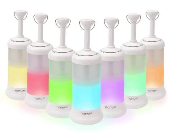 7-цветный фонарь Nanum