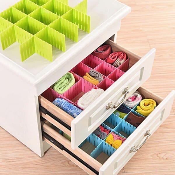 Пластиковые перегородки для наведения порядка в ящиках