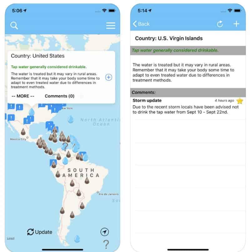 FaucetSafe - приложение для поиска мест, где воду можно пить прямо из крана