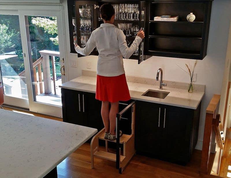 Раскладная лестница для кухни Step 180