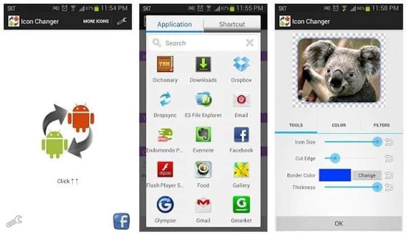 Icon Changer — маскировка реальных иконок приложений
