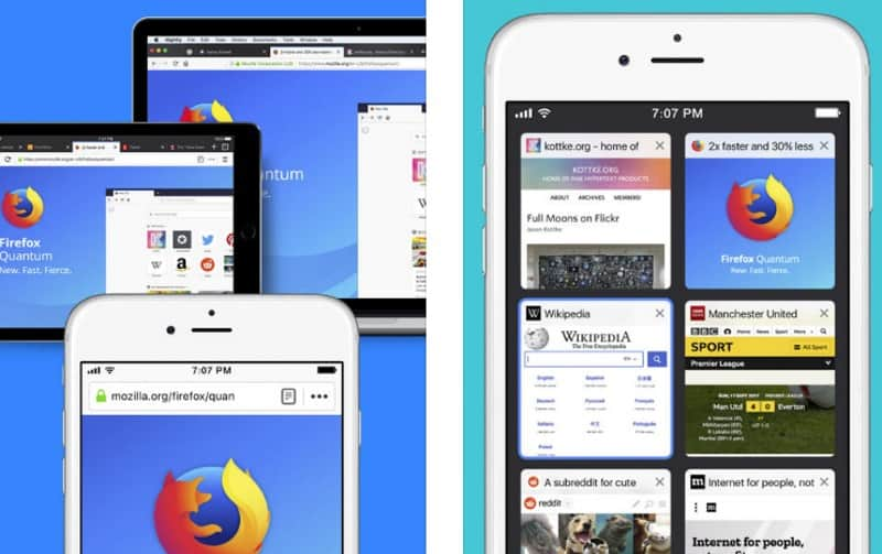 Firefox - мобильный браузер с поддержкой дополнений
