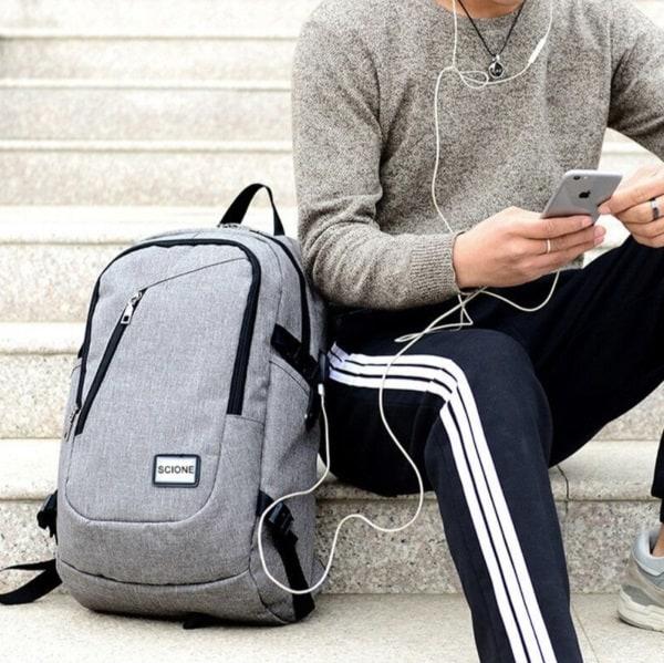 Спортивный рюкзак с сеткой для мяча