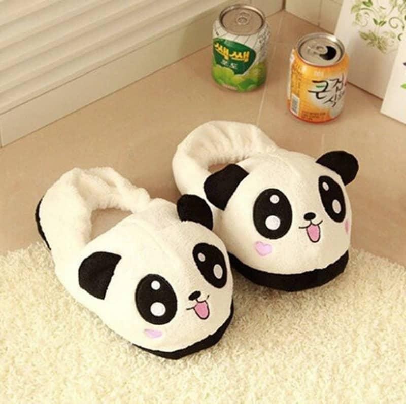 Тапки в виде панд