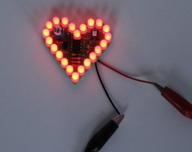 Светодиодное сердечко